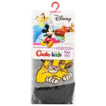 Колготи дитячі Conte Disney р.104-110 сірий 17С-130СПМ