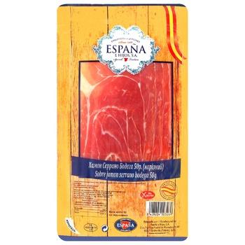 Хамон Espana Серрано Бодега 50г - купити, ціни на ЕКО Маркет - фото 1