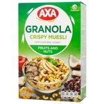 Мюсли Axa с фруктами и орехами 270г - купить, цены на СитиМаркет - фото 1