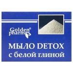 Мыло Golden Pharm Detox с белой глиной 70г