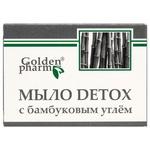 Мыло Golden Pharm Detox с бамбуковым углем 70г