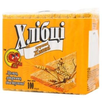 Хлебцы Для Вас ржаные 100г - купить, цены на СитиМаркет - фото 1