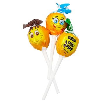 Roshen Lolli Pops Candy Cocktail/Yogurt Flavor - buy, prices for MegaMarket - photo 1