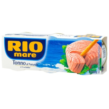Rio Mare Canned in Own Juice Tuna 3pcs 80g