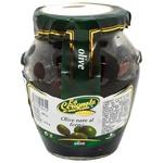 Оливки черные La Cerignola запеченые в масле 314мл