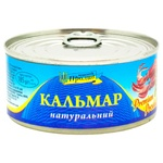 Кальмар Морськой Пролив натуральний з/б 185г