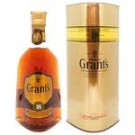 Виски Grant's 18 лет 40% 0,7л