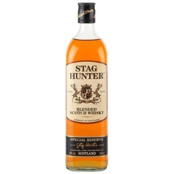 Виски Stag Hunter Reserve 40% 1л - купить, цены на СитиМаркет - фото 1