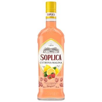 Настойка Soplica лимон-малина 30% 0,5л - купить, цены на Novus - фото 1