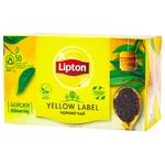 Чай черный Lipton Yellow Label 2г х 50шт