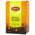 Чай Lipton Royal Island Тропические фрукты черный 80г