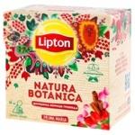 Lipton Natura Botanica Rose Hip Cinnamon Rose Fruit And Herbal Mixture 20pcs*1.8g