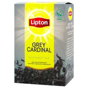 Чай черный Lipton Grey Cardinal с ароматом бергамота 80г
