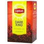 Чай Липтон Дарк Кинг черный 80г