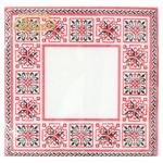 Серветки La Fleur Симетричний орнамент 33x33см 2 шари 20шт