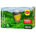 Lipton Set of Black Tea 100pcs + Cup