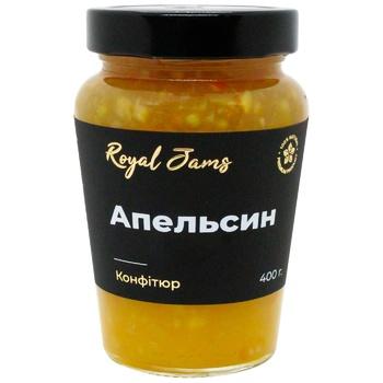 Royal Jams Confiture Orange 400g