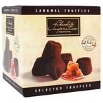 Цукерки Chocolate Inspiration Французькі трюфелі шоколадні з підсоленими карамельними пластівцями 200г