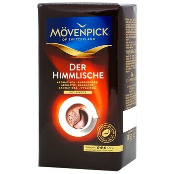 J.J.Darboven Movenpick Der Himmlische Ground Coffee - buy, prices for Auchan - photo 1