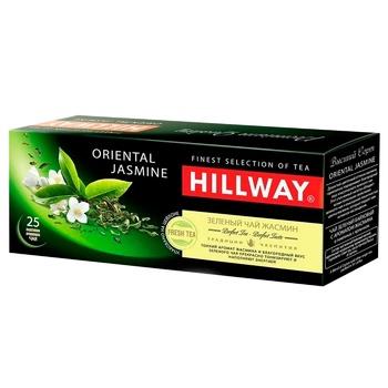 Чай Hillway Oriental Jasmine зеленый байховый 25шт х 2г