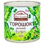Горошок Bel Gusto зелений консервований 425мл