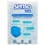 Маска BelEmsa Senso Med одноразовая трехслойная 10шт