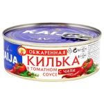 Кілька Kaija обсмажена в томатному соусі з паприкою 240г