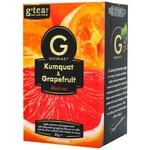 G'tea! Gourmet Black Tea with kumquat and grapefruit 20pcs 1.75g