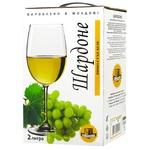 Вино  Alianta Vin Шардоне белое сухое 13% 2л