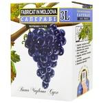 Вино Alianta Vin Саперави красное сухое bag-in-box 12% 3л