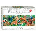 Пазлы Step Puzzle Панорама Мир животных 1000 элементов