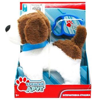 Іграшка Країна Іграшок Собака на повідку інтерактивна PL8213