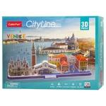 Конструктор 3D CubicFun City Line Venice