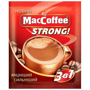 MacCoffee Strong Coffee 16g - buy, prices for Auchan - photo 1