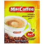 Напій кавовий MacCoffee розчинний Французька ваніль 3в1 18г