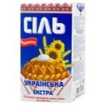 Сіль екстра Слов'янська кухонна йодована 1кг
