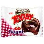 Donut Elvan cherry in chocolate glaze 50g