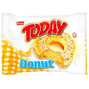 Today Glazed Donut  with banana cream 50g - buy, prices for CityMarket - photo 1