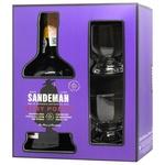 Вино Sandeman Ruby красное сладкое + 2 бокала 19,5% 0,75л