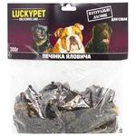 Delicacy Lucky pet beef for dogs 300g Ukraine