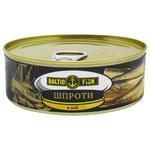 Baltic Fish Sprats in Oil 240g