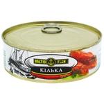 Кілька Baltic Fish обсмажена в томатному соусі 240г