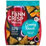 Finn Crisp Wholemeal Flour Snack with Cheese, Onion, Pepper and Tomato Flavor 150g