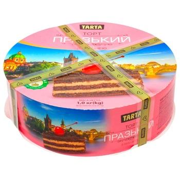 Tarta Prague Сake with Сherries 1kg - buy, prices for Metro - photo 1