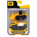 Іграшка Машина CAT Самоскид та Колісний навантажувач 2шт