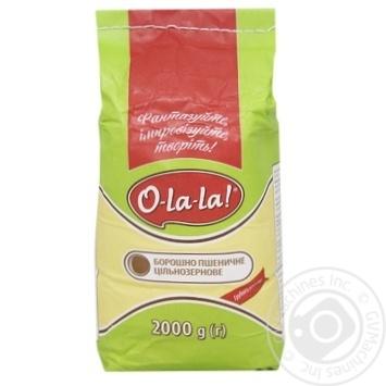 Борошно O-La-la пшеничне 2кг