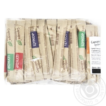 Сахар Саркара продукт Порционный стик 100x5г