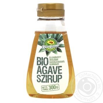 Сироп Biopont Агавы органический 250мл - купить, цены на МегаМаркет - фото 1