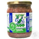 Food Mister gaff with lambs for dogs 500g