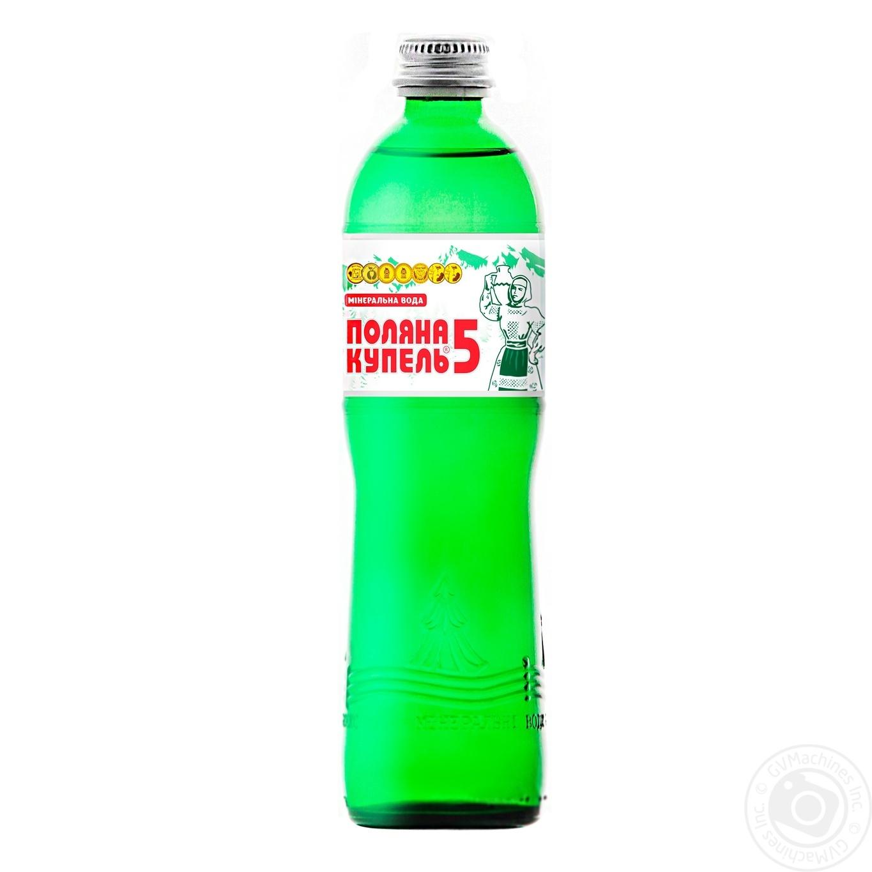 Купить 420, Вода Алекс Поляна Купель-5 минеральная лечебная 0.5л